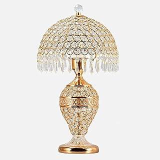 Crayom 鈥嬧€婨uropese tafellamp luxe hotel bureaulamp slaapkamer bedlampje woonkamer glas kristal bruiloft decoratie tafellam...