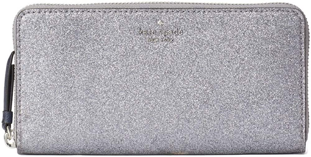 Kate Spade New York Glitter Large Continental Wallet