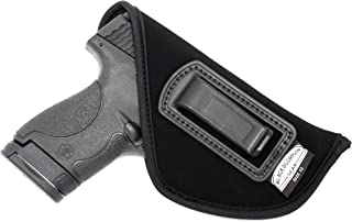 Black Scorpion BSG12N Speedy Neoprene or Nylon IWB Universal Holster Concealed Carry - Fits all Glock 26,27,43/Kel tec P11,P32,P40/Taurus PT140,Pt145/S&W Shield 9/40-All Similar Handguns
