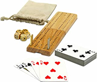 WE Games Cribbage and More Travel Game Pack - 12 Games in 1