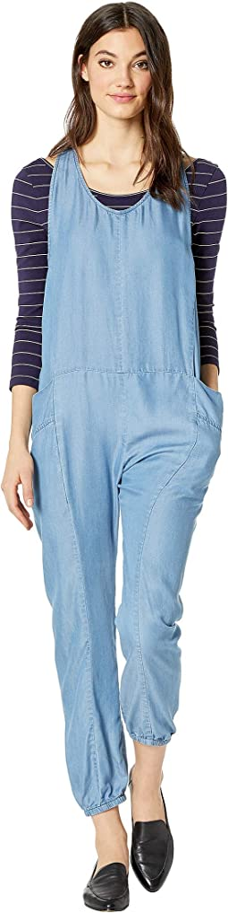 Snap-Button Jumpsuit