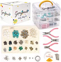 Gemybeads Jewelry Making Supplies Includes Ebook with Clear Instructions, Charms, Pliers, Findings, Beads and More, Great Gift for Women and Teens