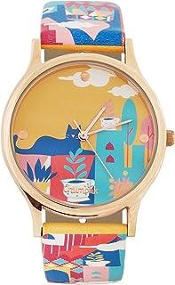 Chumbak Analog Yellow Dial Women's Watch-8907605025822