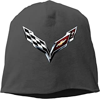 Chevrolet Sportycar and Corvette Beanie Hats Winter Outdoor Fashion Slouchy Warm Caps for Mens&Womens