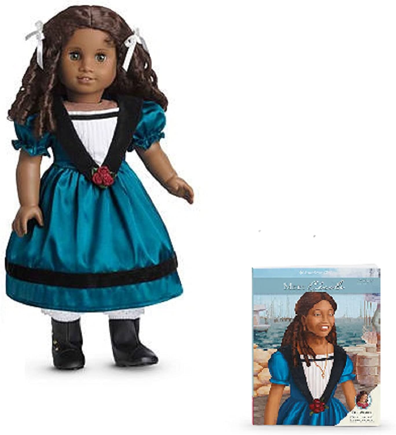 AMERICAN GIRL CECILE DOLL & PAPERBACK BOOK