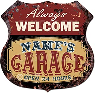 Personalized MAN CAVE Bar Beer Den Garage Funny Sign #8 Custom USA Made