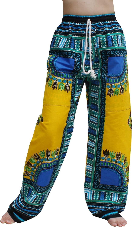 Luxury Dealing full price reduction goods RaanPahMuang African Dashiki Rising Sun Pan Elastic Ankara Waist