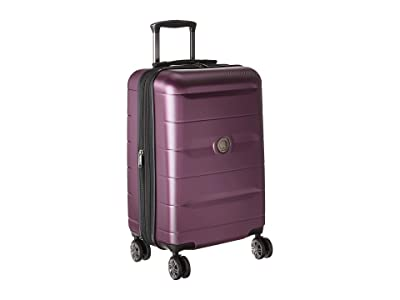 Delsey Comete 2.0 Expandable Spinner Carry-On (Plum) Carry on Luggage
