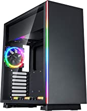 Rosewill ATX Mid Tower RGB Gaming Computer Case with Tempered Glass, RGB PC Fans, Excellent Cable Management and Airflow, ...