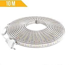 Ahorraluz Bande LED de 220/V 5050/imperm/éable Blanc froid ou chaud IP67 2 Blanc froid