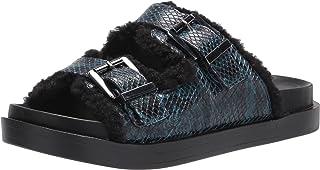 Aerosoles Women's Slide Sandal, BLUE SNAKE, 6.5
