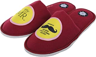 SQUETCH Home Slippers-MR.Moustache