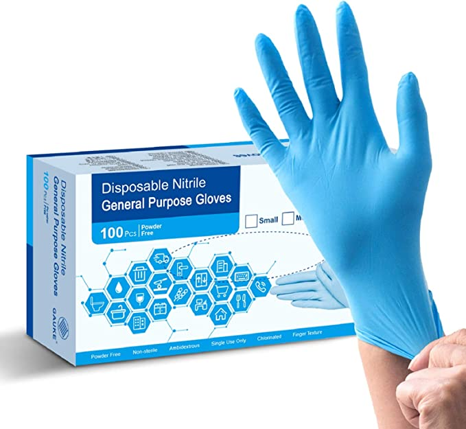 GAUKE Disposable Nitrile Gloves