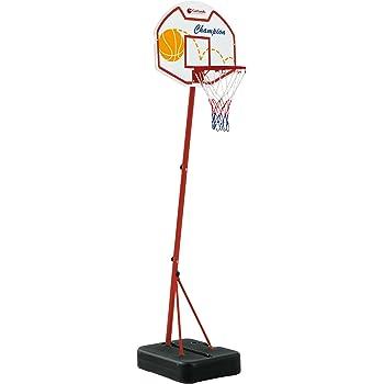Tabellone da Basket Detroit Garlando con Colonna e Base 210 260 cm Canestro