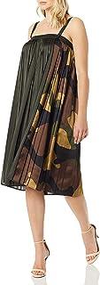 G-Star Raw Women's Gs Plisse Dress Wmn S/Less