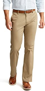 Men's Straight Fit Signature Lux Cotton Stretch Khaki Pant