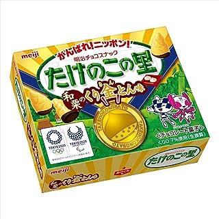 明治 たけのこの里和栗のくり金とん味 61g ×10箱