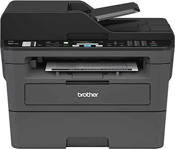 Brother Monochrome Laser Printer Compact All In One Printer Multifunction Printer MFCL2710DW Wireless Networking And Duplex Printing Amazon Dash Replenishment Enabled