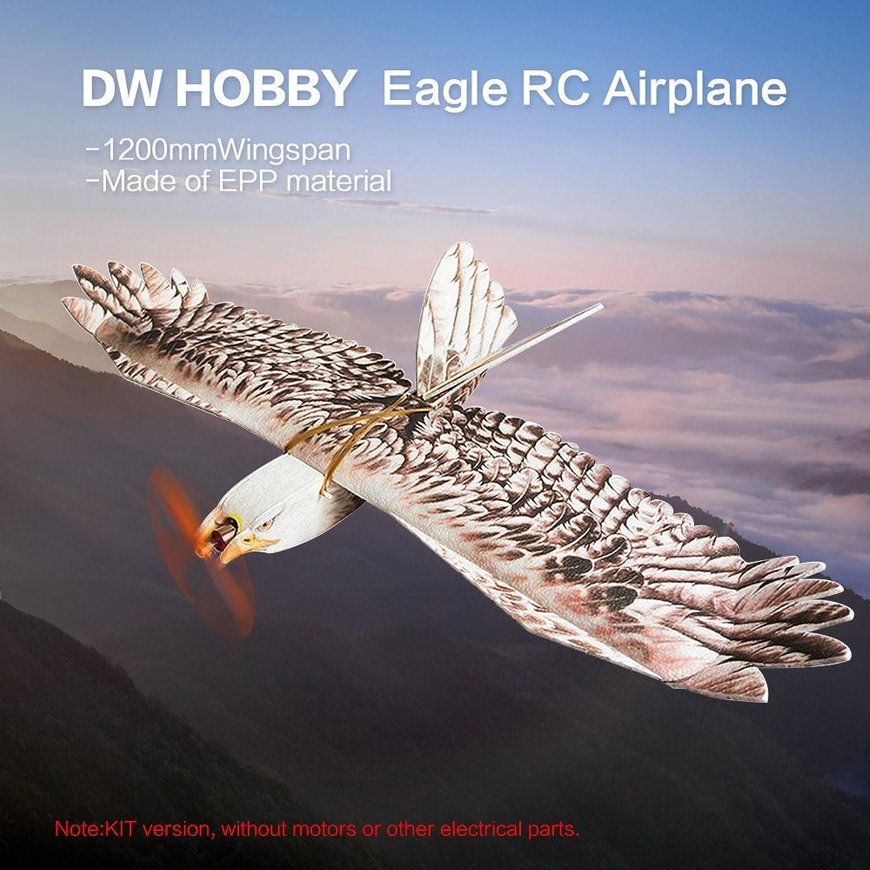 Venta en línea precio bajo descuento Goolsky DW HOBBY HOBBY HOBBY Biomimetic Eagle EPP Mini Slow Flyer 1200mm Wingspan RC KIT de avión  tienda de bajo costo