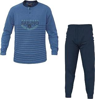 8d8e40f59c1c Navigare Pigiama Uomo Cotone Jersey 3 Colori Serafino Art.140606