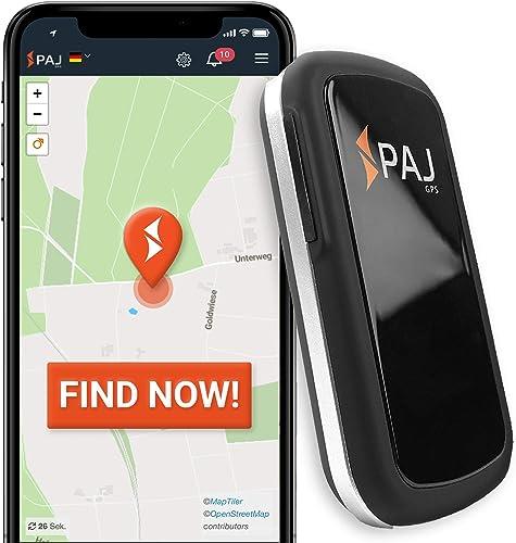 PAJ GPS Allround Finder -Localizador GPS para Coche, Moto, Personas Mayores, niños y más -Rastreador GPS en Tiempo Re...