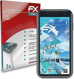 atFoliX Skärmskydd är kompatibel med Palm Pepito Film, ultraklart och flexibelt FX Skärmskyddsfilm (3X)