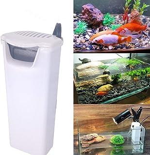 DADEQISH 220V Acuario Filtro interno Tortuga Tanques de peces Bomba de agua Ventosa de pared Adaptador