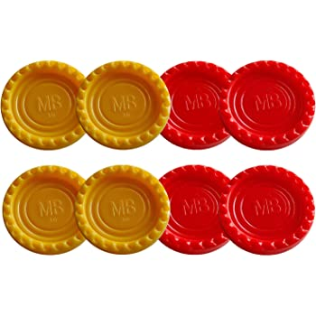 Connect 4 spare game tokens x 4