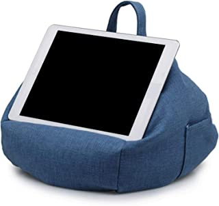 Chengstore Bean Bag Cell Phone Holder, Tablet Stands Cushion,Phone Pillow Holder with Side Pocket - for Phone Glasses Head...