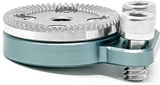 KONDOR - Brazo de extensión de Roseta Azul Ajustable para cámara de Hombro ARRI Rosette Extensor de Agarre de Mano Color Rojo URSA C500 F5 Alexa BMPCC 4K 6K