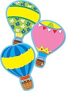 Carson Dellosa – Hot Air Balloons Colorful Cut-Outs, Classroom Décor, 36 Pieces