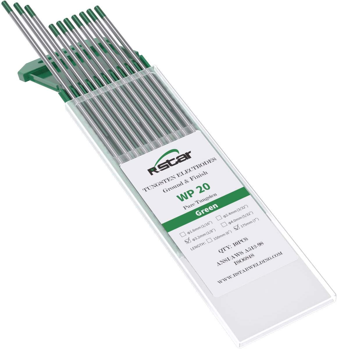 Free shipping on posting reviews Rstar TIG Welding Tungsten New sales Electrodes 1 Pure 99.5% 8âÂ