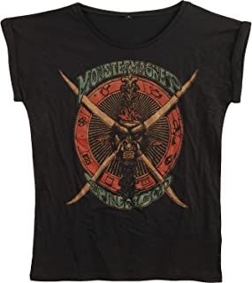Monster Magnet Spine of God Junior Top Black