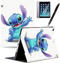 iPad Air 3 (2019) and iPad Pro 10.5`` (2017) Case Cartoon Lilo & Stitch Cartoon Protection Lightweight PU Leather Smart Au...