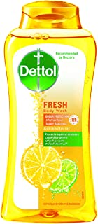 Dettol Fresh Anti-Bacterial Body Wash with Citrus and Orange Blossom Scent - 250 ml