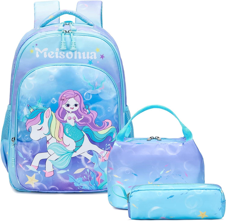 Unicorn School Backpack for Minneapolis Mall Mermaid Element Girls Fort Worth Mall