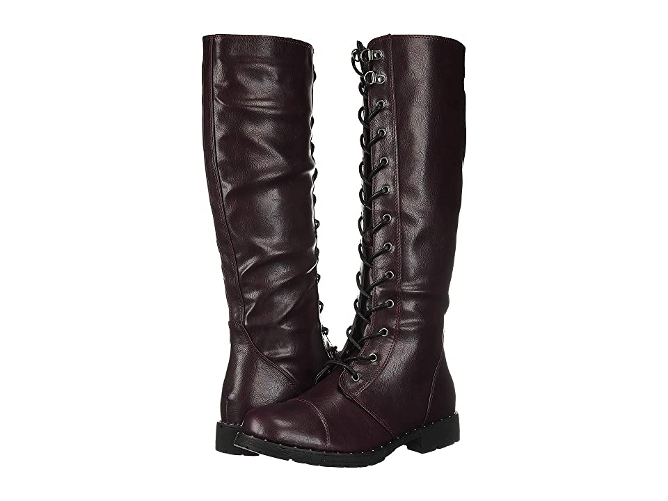 Dirty Laundry Roset Lace-Up Boot (Oxblood) Women