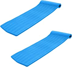product image for Texas Recreation Serenity 70' Foam Raft Lounger Pool Float, Bahama Blue (2 Pack)