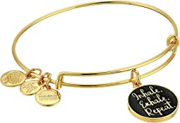 Words are Powerful Inhale Exhale Repeat Bangle