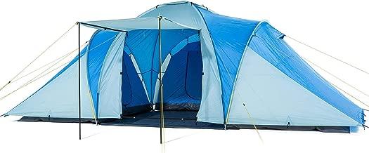 Skandika Daytona Large Group Tent - Blue/Grey, 6 Persons