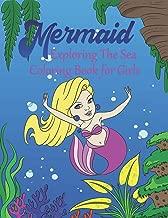 Mermaid Exploring The Sea Coloring Book For Girls: Gorgeous Colouring Book For Girls, Teens & Adults