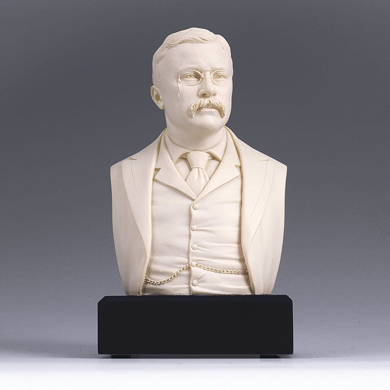 Amazon Exclusive ! - Theodore Roosevelt Bust - Great Americans Collection
