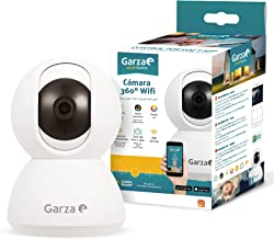 Garza Smarthome Wifi 360 IP Camera Compatibel Met Alexa Apparaten Met Display En Google Chromecast 720P Hd Smart Camera, I...
