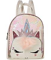 Queen Unicorn Sequins Mini Backpack
