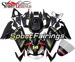 Sportfairings Green Matte Black Injection ABS Fairing Kits For Aprilia RS4 125 RS125 2006-2011 Year 06 07 08 09 10 11 Motorcycle Body Kits