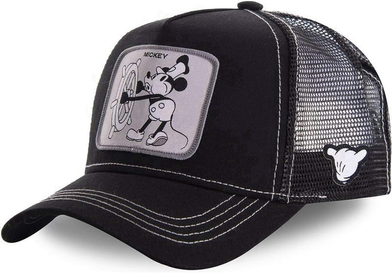 BSUDILOK Cartoon Mickey Baseball Cap Men Hip Hop Dad Mesh Outstanding Women 4 years warranty