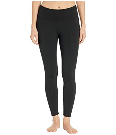 Jockey Active Premium Utility 7/8 Leggings (Deep Black) Women