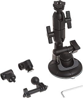 Panavise AcitonGrip 13130 Action Grip Double Knuckle Suction Cup Camera Mount (Matte Black)