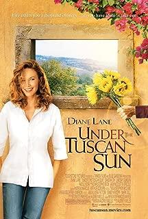 UNDER THE TUSCAN SUN MOVIE POSTER 2 Sided ORIGINAL 27x40 DIANE LANE