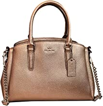 COACH MINI SAGE CARRYALL FOR WOMEN - Rose Gold